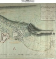 Draught of Fort William and Maryburgh with the Fields and Waters there-abouts at Inverlochie in Lochaber [original 1696] [1813 copy] [2 of 2]
