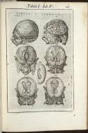 Tabula I. Libri V.