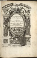 [Title Page of Anatome corporis humani]