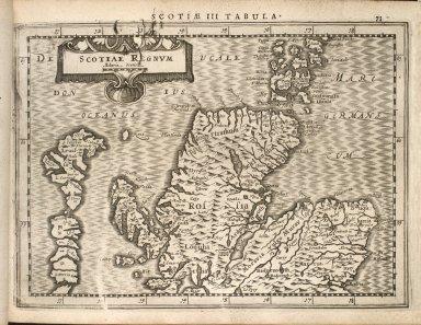 Mercator, Geradi. Atlas sive Cosmographicae Meditationes de Fabrica mundi et fabricati figura. [06 of 14]