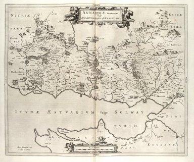 Annandiae praefectura : vulgo, the stewartrie of Annandail [i.e. Annandale] [1 of 1]