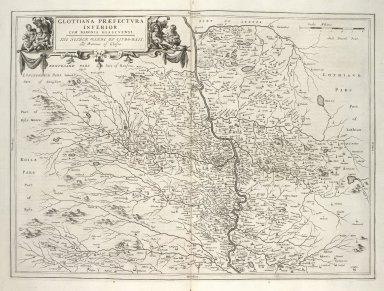 Glottiana Praefectura Inferior, Cum Baronia Glascuensi. [1 of 1]