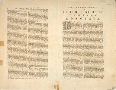 Scotia Antiqua, qualis priseis temporibus, Ramanis praefertim, cognita suit quam in lucem eruere conabatur [2 of 2]