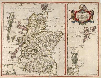 Scotia Antiqua, qualis priseis temporibus, Ramanis praefertim, cognita suit quam in lucem eruere conabatur [1 of 2]