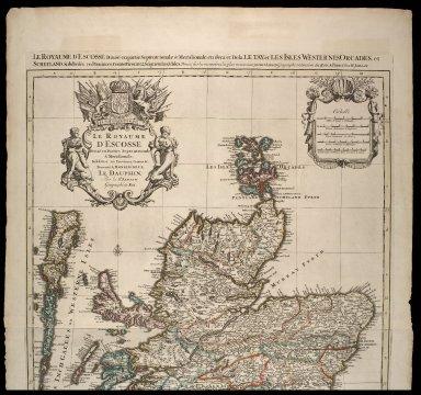 Le Royaume D'Ecosse Divise en Parties Septentrionale & Meridionale; Subdivise en Provinces, Comtez &c. [2 of 2]