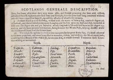 The Eastern part of Scotland wherin ther are divers Shires and the University of Aberdyn [2 of 2]