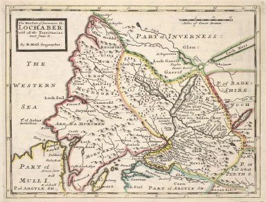 The West Part of Inverness Sh. Lochaber with all the Territories west from it [1 of 1]