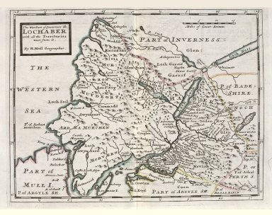 The West Part of Inverness Sh. Lochaber with all the Territories west from it. [1 of 1]