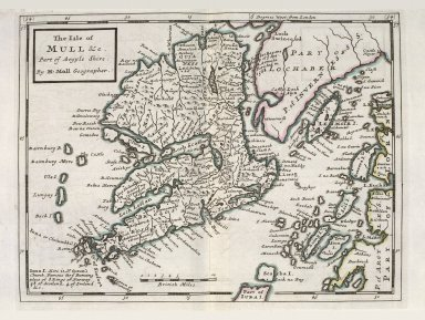 The Isle of Mull &c. Part of Argyl Shire. [1 of 1]