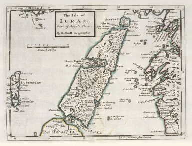 The Isle of Iura &c. Part of Argyl Shire. [1 of 1]