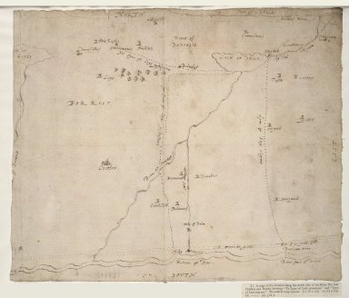 [Map of the district alomg the north side of the River Dee near Crathes and Durris, [1 of 1]