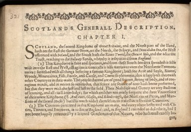 England Wales Scotland and Ireland described and abridged with ye historic relation of things worthy memory from a farr larger voulume. [02 of 10]