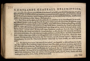 England Wales Scotland and Ireland described and abridged with ye historic relation of things worthy memory from a farr larger voulume. [03 of 10]