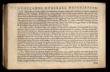 England Wales Scotland and Ireland described and abridged with ye historic relation of things worthy memory from a farr larger voulume. [04 of 10]