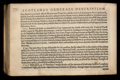 England Wales Scotland and Ireland described and abridged with ye historic relation of things worthy memory from a farr larger voulume. [07 of 10]