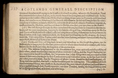 England Wales Scotland and Ireland described and abridged with ye historic relation of things worthy memory from a farr larger voulume. [08 of 10]