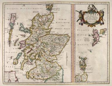 Scotia antiqua : qualis priscis temporibus, Romanis praesertim, cognita fuit quam in lucem eruere conabatur [2 of 3]