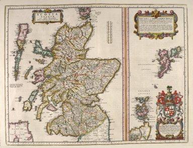 Scotia regnum cum insulis adjacentibus [2 of 3]