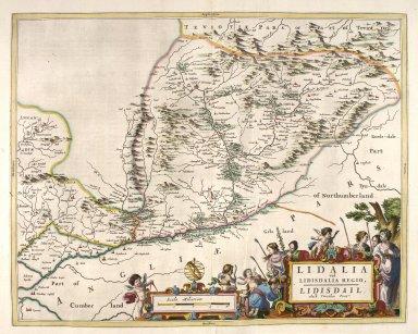 Lidalia vel Lidisdalia regio, Lidisdail. [2 of 2]