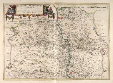Glottiana Praefectura Inferior, cum Baronia Glascuensi. [2 of 3]