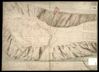 [Plan of Edinburgh Castle 1725] [1 of 1]