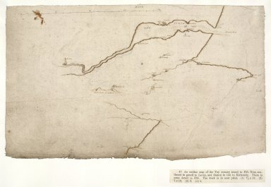 [An outline map of the Tay estuary round Fife Ness and on to Kirkcaldy]. [1 of 1]