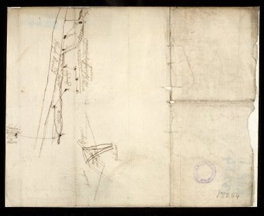 [Sketch plan of Sauchie marches at Youngs Corner] [1 of 1]