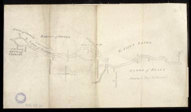 [Plan of the River Spey between New Lunan and Ordiequish] [1 of 1]