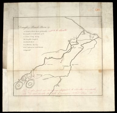 [Plan of the Braid and Niddrie burns] [1 of 1]