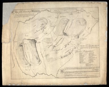 A Map of the Forrest of Mamlorne Faithfully Survey'd conform to an Act & Warrrant of the Rt. Hon. The Lords of Council Session, Dated the thirty first day of July 1735 / By David Dowie. [1 of 1]