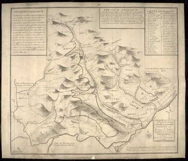 A Map of the Barony of Stobbo in the Sherreffdom of Peebles now Belonging to Charles Murray Esqr., with the Parks and Improvements made upon it by Sir Alexander Murray at Stanhope / The whole Accurately Survey'd by And. Bearhop. [1 of 1]