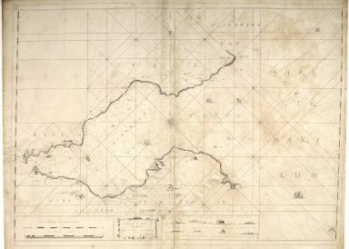 The Hydrographicall mappe of Forth from the entry to ye Quensferry [1 of 1]