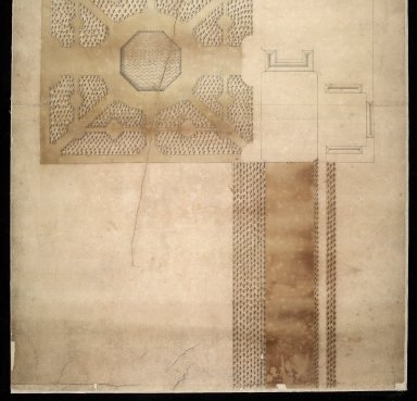 [Plan of part of Grange ('Graing'), the seat of Hon. Major Thomas Cochran] [2 of 2]