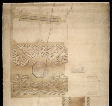 [Plan of part of Grange ('Graing'), the seat of Hon. Major Thomas Cochran] [1 of 2]