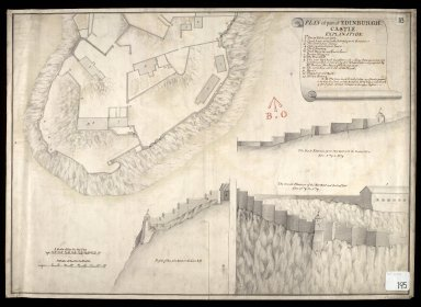 Plan of Part of Edinburgh Castle [1 of 1]