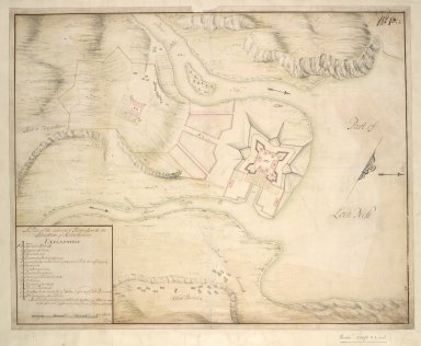 A Plan of the intended Fortress with the Situation of Killinwhiman [Fort Augustus]. [1 of 1]