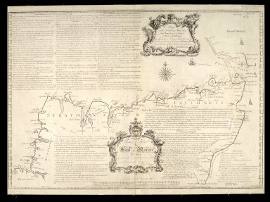A Map of the North Coast of Britain, from Row Stoir of Assynt, to Wick in Caithness [1 of 1]