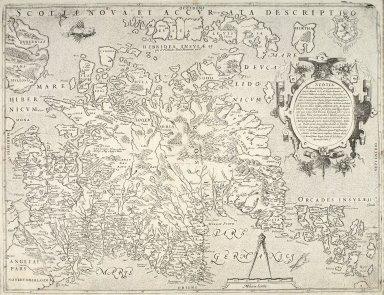 Scotia nova et accurata descriptio [1 of 1]