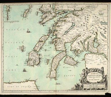 Lorna, Knapdalia, Cantire, Jura, Ila, Glota, et Buthe insulae. [1 of 1]