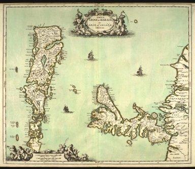 Tabula Leogi et Haraiae ac Skiae vel Skianae Insularum. [1 of 1]
