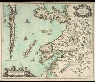 Lochabria, omnesq, Insulae versus Occidentem sitae, ut Visto, Mulla, aliaeque. [1 of 1]