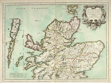L' Escosse dela le Tay, divisée en ses Provinces &c. [1 of 1]