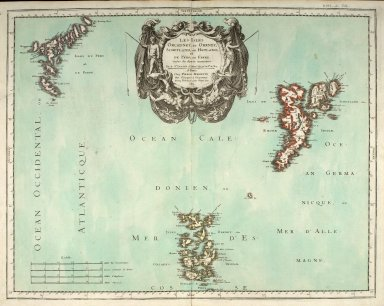 Les Isles Orcadney, ou Orkney ; Schetland, ou Hetland ; et de Fero, ou Farre, [1 of 1]