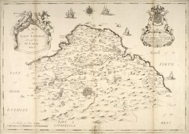 A map of East Lothian [1 of 1]