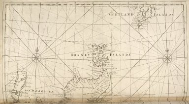 A chart of the Coast of Scotland with all its islands. Drawn according to the Globular Projection. [2 of 2]