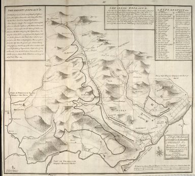 A map of the Baronry of Stobbo in the Sherreffdom [sic] of Peebles now belonging to Charles Murray ... with the Parks and Improvements made upon it by Sr. Alexander Murray of Stanhope [1 of 1]