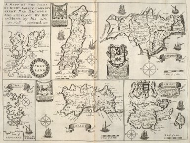 Britannia: or, A geographical description of the kingdoms of England, Scotland, and Ireland, with the isles and territories thereto belonging [19 of 22]
