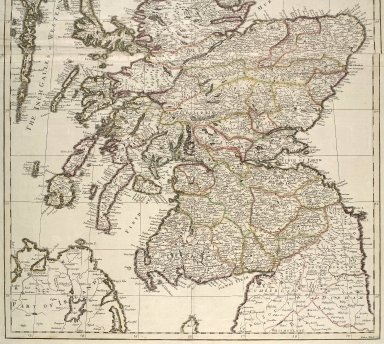 A new and exact mapp of Scotland, or North Britain [1 of 2]