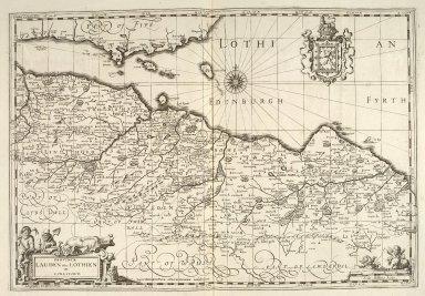 Provincae Lauden seu Lothien et Linlitquo [1 of 1]