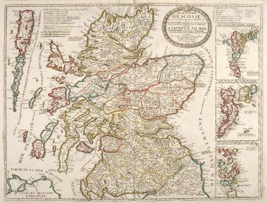 Le Royaume d'Escosse, Divisé en deux Parties, Subdivsée en Provinces etc. [1 of 1]